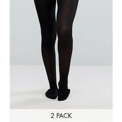 ASOS 2 Pack 40 Denier Tights - Black, kolor czarny