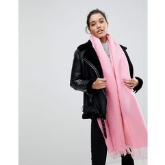 ASOS Supersoft Long Woven Scarf With Tassels - Pink
