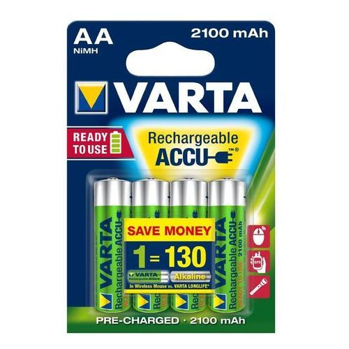Varta akumulatory Power 4 AA 2100 mAh R2U 56706101404