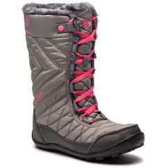 Śniegowce COLUMBIA - Youth Minx Mid III Wp Omni-Heat BY5949 Stratus/Camelia Rose 008