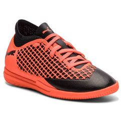 Puma Buty - future 2.4 it jr 104846 02 black/orange