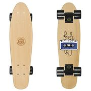 Deskorolka Fishskateboards Wood Tape / Black / Black