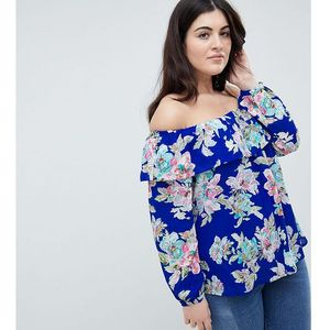 Lovedrobe printed bardot top - multi
