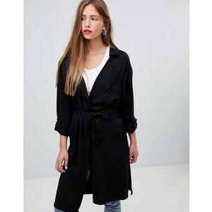 JDY trench coat - Black, w 4 rozmiarach