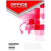Blok biurowy OFFICE PRODUCTS, A4, w kratkę, 50 kart., 70gsm (5901503654514)