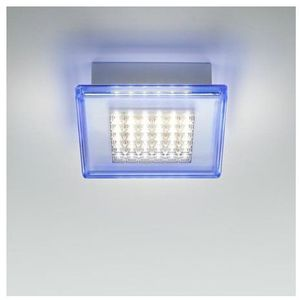 QUADRILED-Plafon LED do łazienki Metal & Méthacrylate Dł.40cm, F18 G02 05