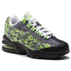 Nike Buty - air max 95 se (gs) 922173 004 black/volt/ash/white
