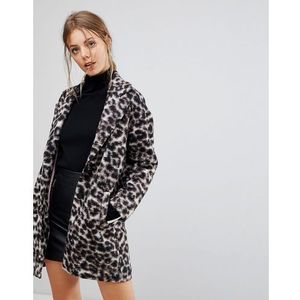 Esprit leopard print coat - brown