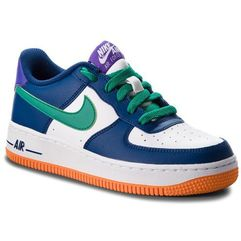 Buty - air force 1 (gs) 596728 407 gym blue/neptune green/white marki Nike