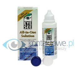 all in one solution z hialuronianem 100 ml marki Eye see