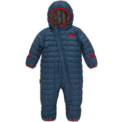 infant thermoball bunting cosmic blue denim print 3m marki The north face