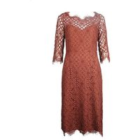 "TwinSet Sukienka ""Lace Dress"", 8058986111649"