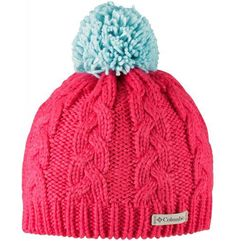 czapka in-bounds beanie red camellia spray os marki Columbia