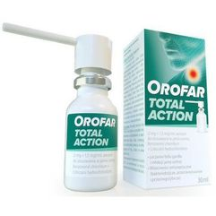 Orofar Total Action aerozol do gardła 30ml