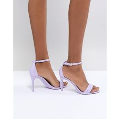 Aldo two part shoe with ankle strap in lilac - purple