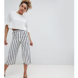stripe culotte trousers - multi marki Miss selfridge petite