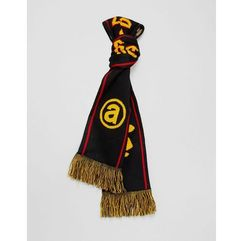 Aape by a bathing ape� Aape by a bathing ape scarf with reverse camo in black - black