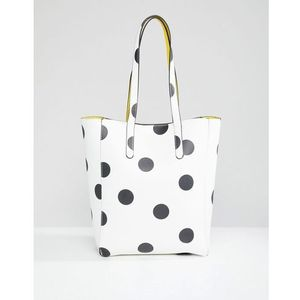 Stradivarius Large Spot Shopper - Multi