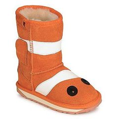 Buty za kostkę EMU KIDS LITTLE CREATURES CLOWN FISH
