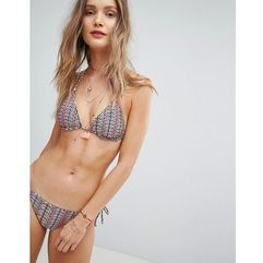 Accessorize Zanzibar Reversible Triangle Bikini Top - Multi