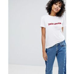2nd Day True Lover T-Shirt - White, kolor biały