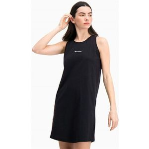 Champion Sukienka - jacquard logo tape tank dress (kk001)