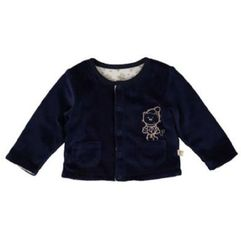 KANZ Boys Baby Kurtka pluszowa dress blue, kolor niebieski