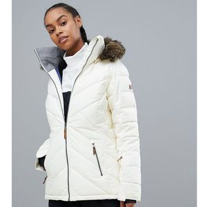 Roxy Quinn ski jacket in white - White, kolor White