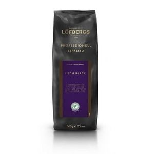 Lofbergs Pitch Black Professional Espresso kawa ziarnista 500g (7310050004013)