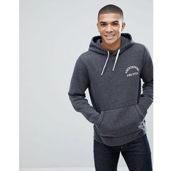 chest logo hoodie in grey - grey, Abercrombie & fitch, M-XL