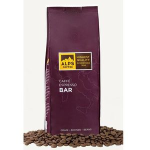 Kawa ziarnista alps coffee bar 1000g marki Alps coffee (schreyögg)