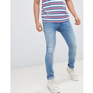 Only & Sons Washed Jeans In Skinny Fit - Blue