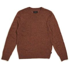 Brixton Sweter - wes sweater clay (clay) rozmiar: m