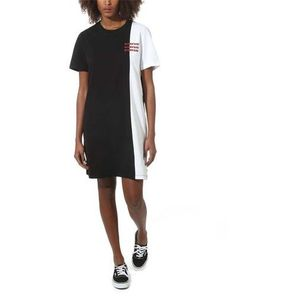 sukienka VANS - Superspeedee Tee Dress Black (BLK), kolor czarny