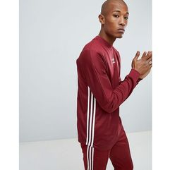 adidas Originals Authentic Long Sleeve Top In Red DJ2868 - Red, w 6 rozmiarach