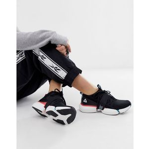 Reebok Training Split Flex Trainers In Black With Colour Pops - Black