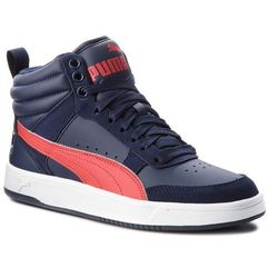 Sneakersy PUMA - Rebound Street V2 Jr 363916 08 Peacoat/Rbbn Red/White