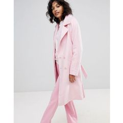 2NDDAY Livia Double Breasted Coat - Pink