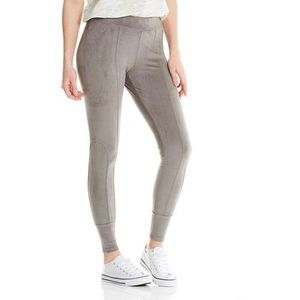 Bench Spodnie - velour leggings dark grey (gy149) rozmiar: s