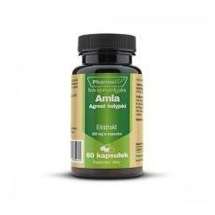 Amla - Agrest indyjski ekstrakt 4:1 400mg 60kaps.