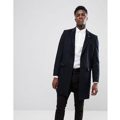 overcoat in navy - navy marki Burton menswear