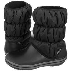 Śniegowce winter puff boot w black/charcoal 14614-070 (cr135-a), Crocs