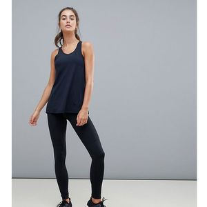 tall run legging with tie waist - black marki Asos 4505