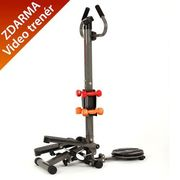 Insportline Stepper 3w1 easystep+twister+hantle