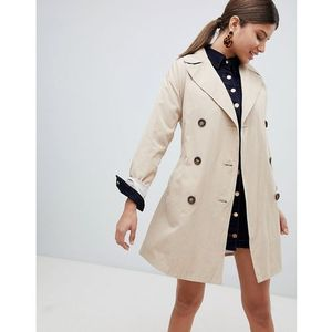 Missguided classic trench coat - Beige