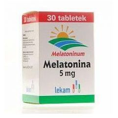 Melatonina LEK-AM tabl. 5 mg 30 tabl. (blistry) (5909990076369)