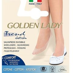 Baletki 6p cotton 39-42, beżowy/natural. golden lady, 35-38, 39-42, Golden lady