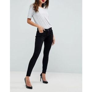 ASOS WHITBY Low Waist Skinny Jeans In Clean Black - Black, jeans