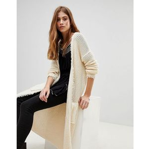 Free people woodstock open cardigan - cream