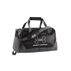 Under Armour UA Hustle-r Small Duffle Storm Black 1szt